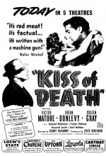 Kiss of Death (I) (1947) afişi