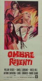 Ombre roventi (1970) afişi