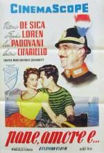 Pane, Amore E... (1955) afişi