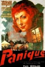 Panique (1947) afişi