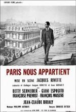 Paris Bizimdir (1960) afişi