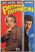 Patron Duymasın (1985) afişi