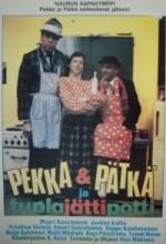 Pekka & Pätkä Ja Tuplajättipotti (1985) afişi