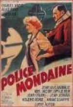 Police Mondaine (1937) afişi