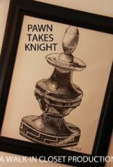 Pawn Takes Knight (2012) afişi