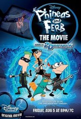 Phineas and Ferb The Movie: Across the 2nd Dimension (2011) afişi