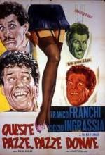 Queste Pazze Pazze Donne (1963) afişi