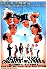 Rendez-vous Aux Champs-Élysées (1937) afişi