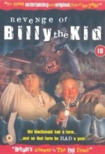 Revenge Of Billy The Kid (1992) afişi