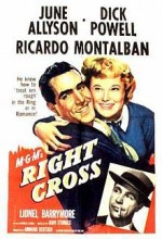 Right Cross (1950) afişi