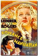 Romance ın Manhattan (1935) afişi