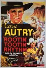 Rootin' Tootin' Rhythm (1937) afişi