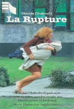 La Rupture (1970) afişi