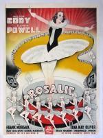 Rosalie (1937) afişi