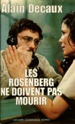 Rosenbergler Ölmemeli (1975) afişi