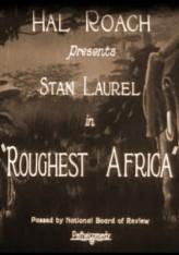 Roughest Africa (1923) afişi