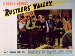Rustlers' Valley (1937) afişi
