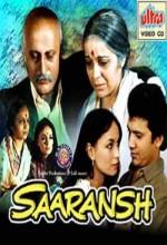 Saaransh (1984) afişi