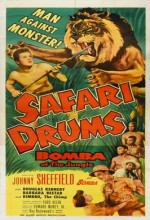 Safari Drums (1953) afişi