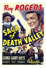 Saga Of Death Valley (1939) afişi