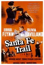 Santa Fe Yolu (1940) afişi