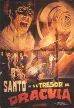 Santo En El Tesoro De Drácula (1969) afişi