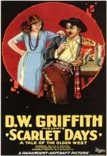 Scarlet Days (1919) afişi