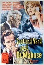 Scotland Yard Jagt Dr. Mabuse (1963) afişi