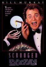 Scrooged (1988) afişi