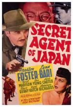 Secret Agent Of Japan (1942) afişi