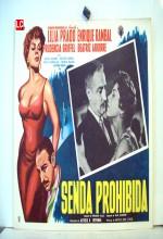 Senda Prohibida (1961) afişi
