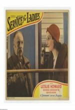 Service For Ladies (1932) afişi