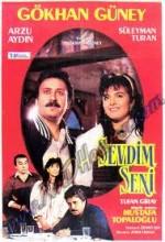 Sevdim Seni (1987) afişi