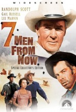 Seven Men From Now (1956) afişi