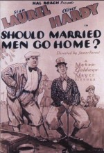 Should Married Men Go Home (1928) afişi