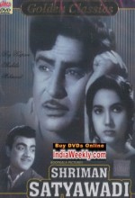 Shriman Satyawadi (1960) afişi
