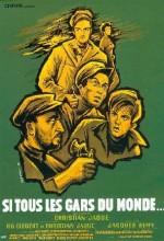 Si Tous Les Gars Du Monde (1956) afişi