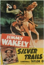 Silver Trails (1948) afişi