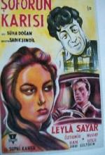 Şoförün Karısı (1962) afişi