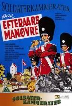 Soldaterkammerater På Efterårsmanøvre (1961) afişi