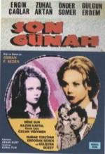 Son Günah (1970) afişi