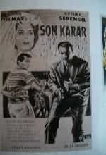 Son Karar (ı) (1964) afişi