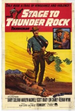 Stage To Thunder Rock (1964) afişi