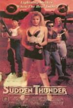 Sudden Thunder (1990) afişi