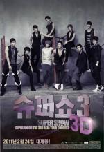Supershow 3 3d (2011) afişi