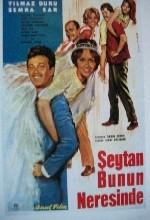 Şeytan Bunun Neresinde(ı) (1962) afişi