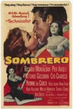 Sombrero (1953) afişi