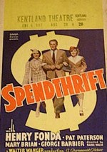 Spendthrift (1936) afişi