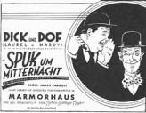 Spuk Um Mitternacht (1930) afişi