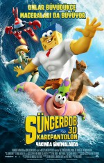 Sünger Bob Kare Pantolon 3D (2015) afişi